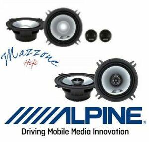Alpine SXE-1350S SXE-1325S Set 6 Arcas 13cm Para BMW Serie 3 5 7 Altavoces