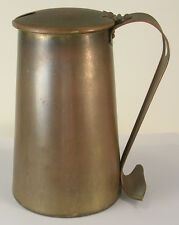 Rostand Copper Fireplace Starter Pot with No Wand Original Patina Unpolished