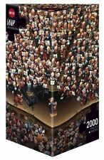 HY08660 - Heye Puzzles - Triangular , 2000 Pc - Orchestra, Loup