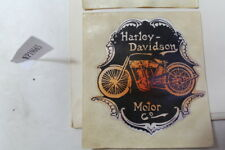 "Harley Motor Co 3"" round sticker decal OLD 1950s vintage collectibles EPS19665"