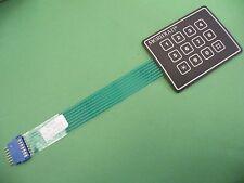 12 key 3x4 Matrix 0-9 *# keyboard keypad data entry Arduino Self Adhesive  927
