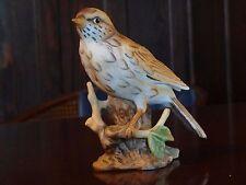 "Mistle Thrush Bird Figurine Porcelain 4-7/8"" Tall"
