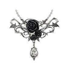 Official Alchemy Gothic Bacchanal Rose Pendant - Necklace Jewellery England