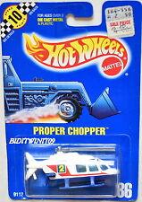 Hot Wheels 1991 Propper Chopper #185 negro base