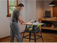 NEW! Craftsman Evolv Table Saw 10 Inch Blade W/ Stand Garage Wood Work Shop