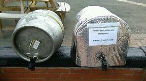 2 ICE BLANKETS & 1x INSULATED CASK JACKET cask beer cooler pub ale pump barrel