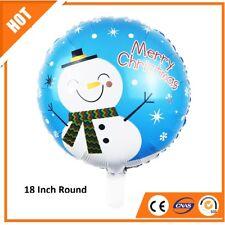 Natale PUPAZZO DI NEVE Elio Foil Balloon 18 POLLICI Party Decorazione Divertimento Bambini