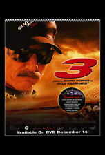3: THE DALE EARNHARDT STORY Movie POSTER 27x40 Barry Pepper Elizabeth Mitchell