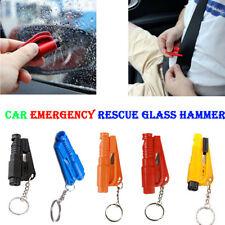 Keychain Car Rescue Hammer Glass Breaker Seat Belt Cutter Emergency Escape.Tool