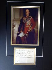 FREDERICK SLEIGH ROBERTS - ARMY FIELD MARSHAL -  SUPERB SIGNED ' KABUL ' DISPLAY