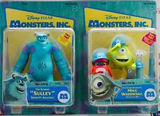 Disney Pixar Monsters Inc Talking James P Sullivan Sulley Mike Wazlowski NOS