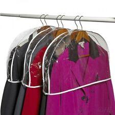 Clear Vinyl Shoulder Covers Closet Suit Protects Storage Home Decor Set of 12,