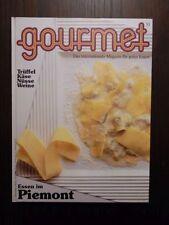 Edition Willsberger gourmet  Nr.53 Essen in Piemont Herbst 1989