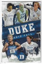 New listing 2012 Duke College Field Hockey Volleyball Schedule !!!