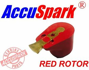 Accuspark Red Rotor Arm for Lucas 43D 45D or 59D Distributors Mini