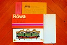 Röwa H0 1407 Electric articulated locomotive E91 series of the DB