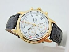Paul Picot Chronograph ref 8002 Lemania 5100 automatic 37 mm box and papers +