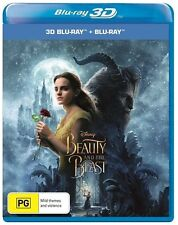 Beauty And The Beast (Blu-ray, 2017)