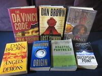 Dan Brown: Inferno, Da Vinci Code, Origin, Lost Symbol, Angels Demons, Plus 2!
