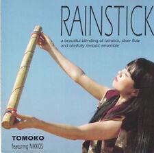Rainstick Tomoko Featuring Nikkos Music CD Silver Flute Signed on Disc