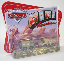 Disney PIXAR Cars Mini Adventures Sarge's Boot Camp Sarge & Lightning McQueen