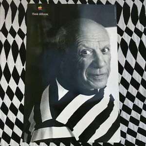 Apple Computer Think Different Pablo Picasso Poster 24 x 36