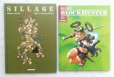 Lot BD TS TL - Sillage 6 Artifices & Blockbuster / EO / MORVAN & BUCHET /5900 EX