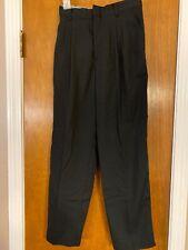 MICHAEL JAMES Boy's Black Dress Pants EUC size 14 Slim