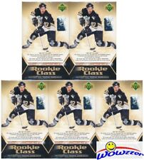 (5) 2005/06 UD Hockey Rookie Class Sealed Box Set-Sidney Crosby,Ovechkin RC