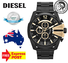 DIESEL DZ4338 MEGA CHIEF Black / Gold Watch