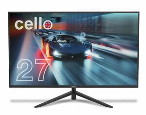 "CELLO 27"" inch Full HD Monitor, Flicker free, Low Blue Light, 144Hz 14ms 1000:1"