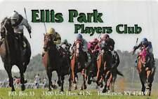 Ellis Park Race Track Henderson Ky Players Club Card