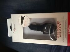 Verizon Universal car charger with extra USB port.