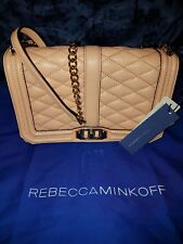 Authentic Rebecca Minkoff Quilted Love Crossbody Bag