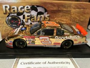 Action RFO Gold Chrome 2000 Dale Earnhardt #3 GMGW No Bull 76th Win 1/24