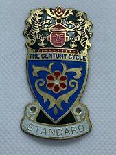 Vintage Antique Standard bicycle head badge brass emblem front badge