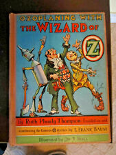 Ozoplaning With Wizard of Oz Ruth Plumly Thompson SCARCE HC 1st PRINT Reduced