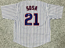 Chicago Sammy Sosa Signed Jersey Beckett BAS Witnessed Auto Authentication COA