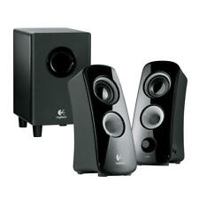 Logitech Z323 3 Piece 2.1 Channel Multimedia Computer Speaker System - Black