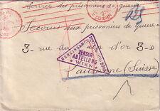 GUERRE 14-18 - PRISONNIER DE GUERRE FRANCAIS A SOFIA EN BULGARIE - RARE.