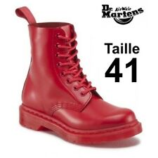Dr Martens 1460 Pascal mono poppy red, taille 41 EU (7 UK) NEW in box