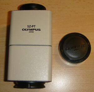 Olympus SZ-PT Mikroskopkamera Fototubus Adapter Japan / Mikroskop-Zubehör in OVP