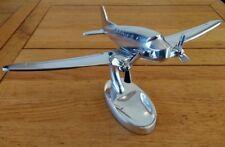 Stylish Large Dc-3 Aeroplane Ornament Desk Toy - Aluminium Plane Sculpture Gift