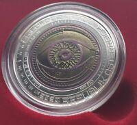 Austria 25 Euro Silver Niobium Coin 2020 Glassy Person Hand Lifted