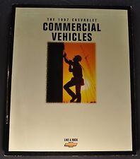 1997 Chevrolet Commercial Truck Brochure Silverado Pickup S-10 Express Van Astro
