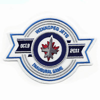 Official Winnipeg Jets Team Issued 1st Game Inaugural Season Rare Vintage Patch