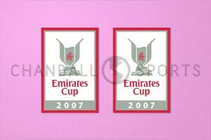 Arsenal Emirates Cup 2007 Sleeve Soccer Patch / Badge