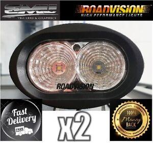 Roadvision LED Work Light RWL92 20W Flood X2