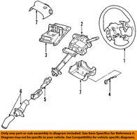 GM OEM Steering Column-Shroud 20861653