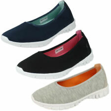 Suede Pull On Flats for Women